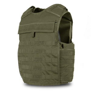 SecPro Legacy Tactical Assault BulletProof Vest Tactical Ballistic - OD Green