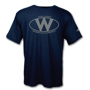 Team Wendy 94-TSH-D2-BK-SM Logo T-Shirt