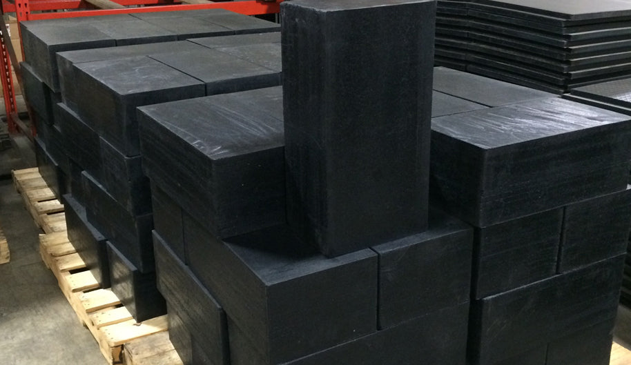 Ballistic Rubber Blocks