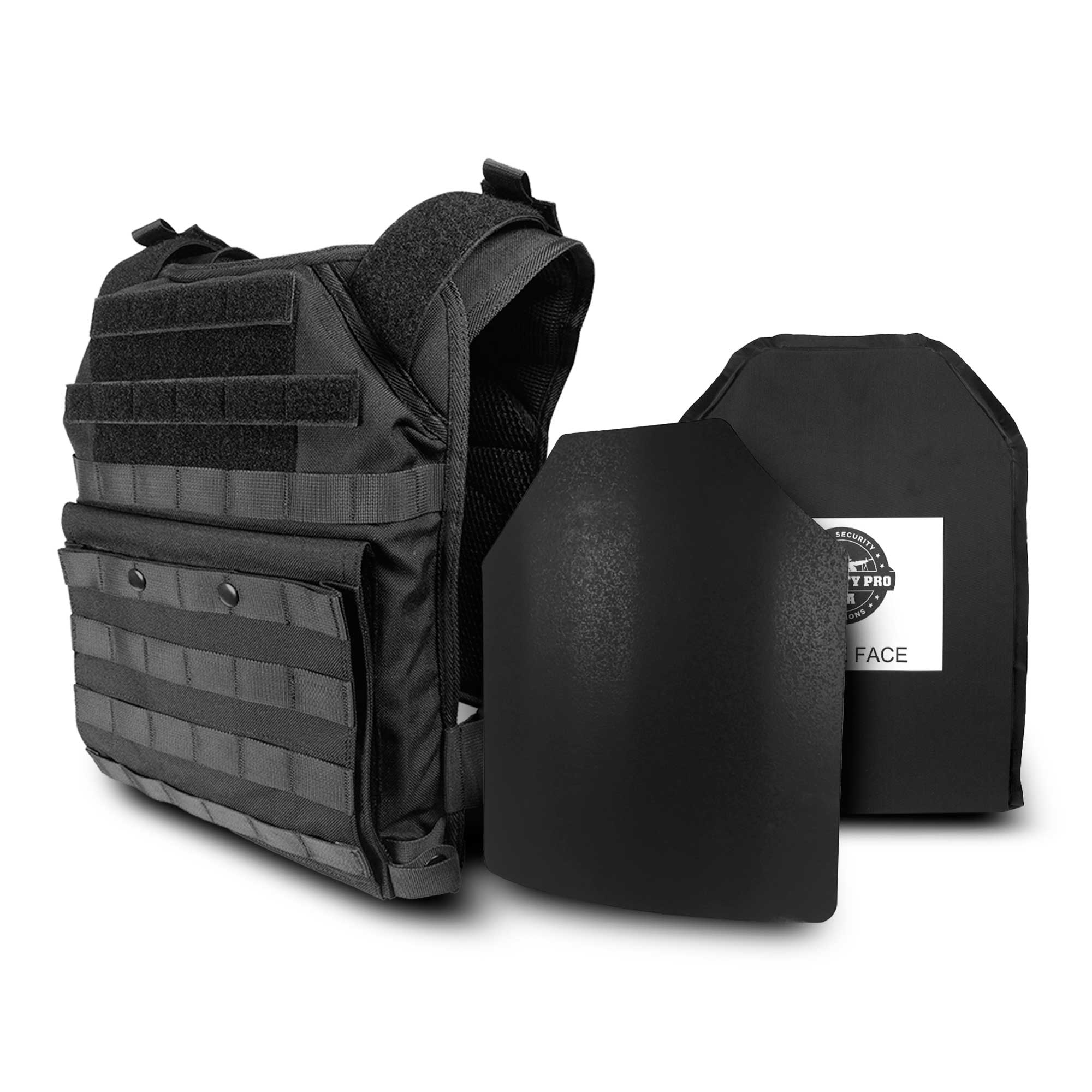 SecPro Shooter's Special Body Armor Bundle Bulletproof Vest Tactical Ballistics