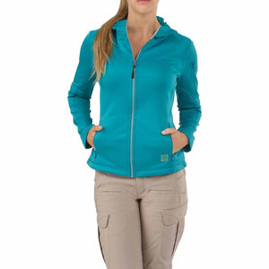 5.11 Tactical 62003 Women's Horizon Hoodie Caribbean Sea