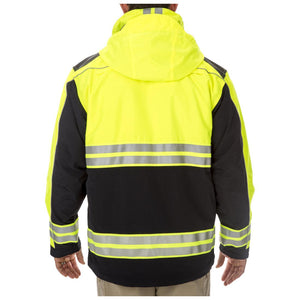 5.11 Tactical 48073 Men Responder High-Visibility Parka Dark Navy