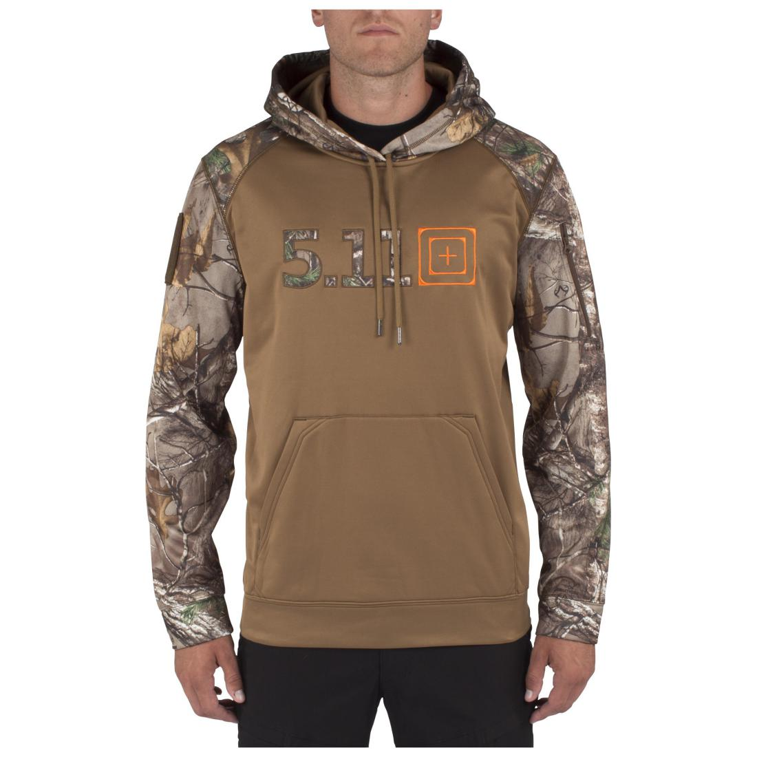 5.11 Tactical Men 72432 Realtree X-Tra Diablo Hoodie Battle Brown