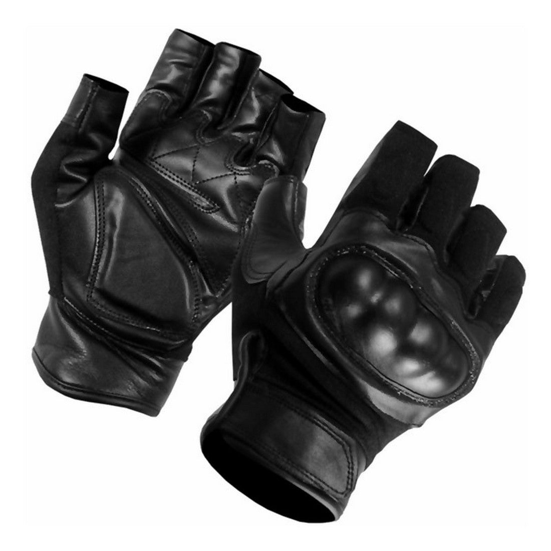 SecPro Superior Service Touch Hard Knuckle Leather Gloves