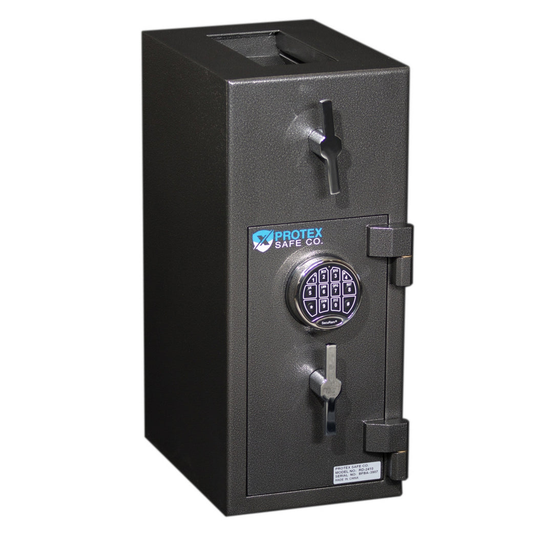 Protex Safe RD-2410 Large Rotary Hopper Depository Safe