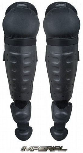 Damascus Gear Hard Shell Shin Guards w/ Non-slip Knee Caps