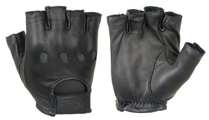 Damascus Gear Premium leather driving gloves (½ Finger)