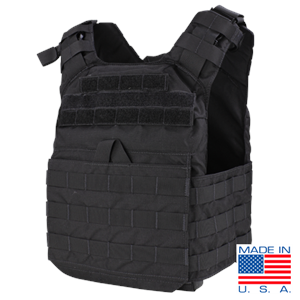 Condor US1020 Cyclone Plate Carrier-Black (Armor)