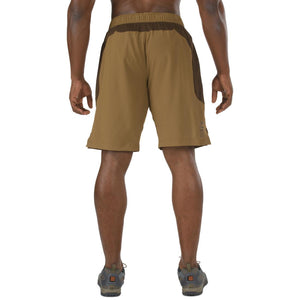 5.11 Tactical 43058 Men Recon Performance Training Shorts Battle Brown