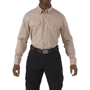 5.11 Tactical 72399 Men Stryke Long Sleeve Shirt Khaki