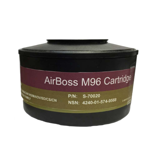 Airboss M96 NBC Filter for Gas Masks | Gas Mask Cartridges