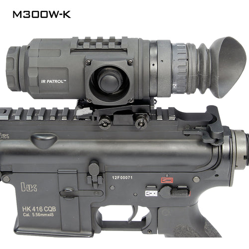 USNV 039216 IR Patrol M300W-K Thermal Monocular 640X480 Weapon Mounted Kit Standard Kit + Weapon Mount