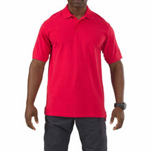 5.11 Tactical 41060 Men Professional Short Sleeve Polo Range Red