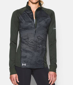 Under Armour 1276977 Tech Freedom ½ Zip Women's Tactical Long Sleeve