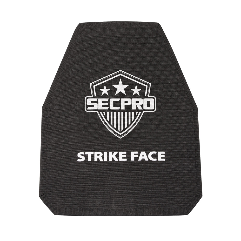 SecPro Ceramic & Composite Single Curve Shooters Cut Stand Alone Special Threats Rifle Plate
