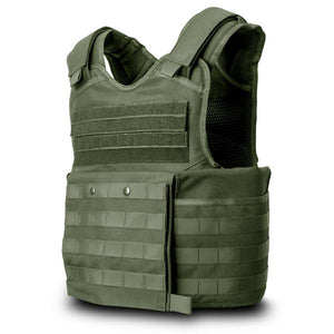 SecPro Gladiator Tactical Bulletproof Assault Vest Tactical Ballistic - OD Green