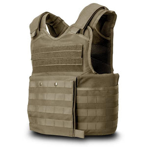 SecPro Gladiator Tactical Bulletproof Assault Vest Tactical Ballistic - Tan
