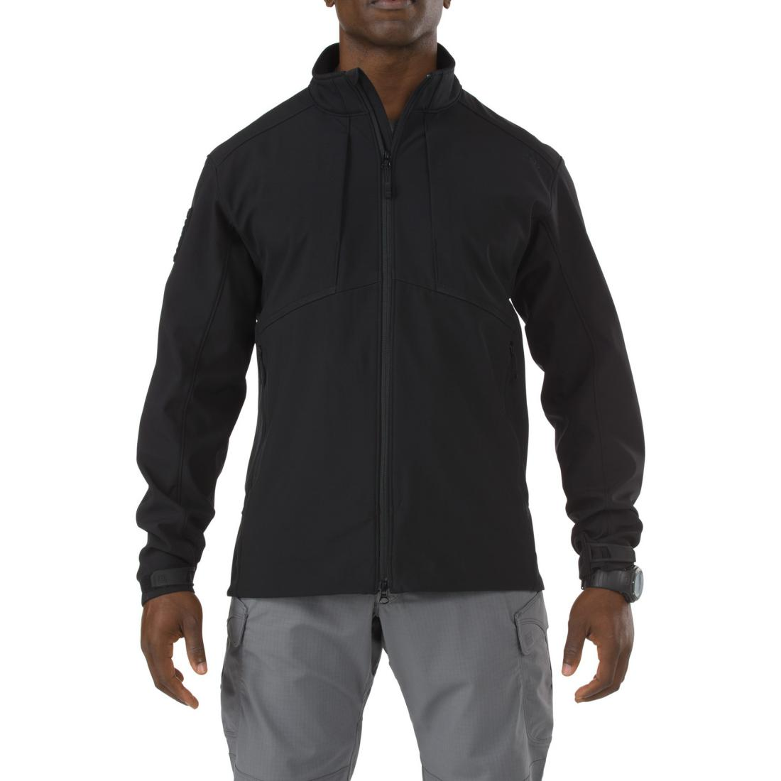 5.11 Tactical 78005 Men Sierra Softshell Black