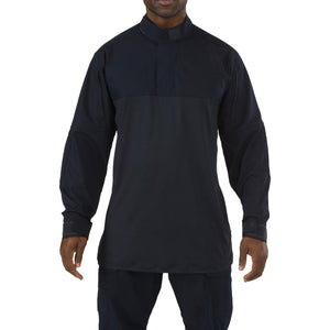 5.11 Tactical 72071 Men Stryke TDU Rapid Long Sleeve Shirt Dark Navy Reguler - Small