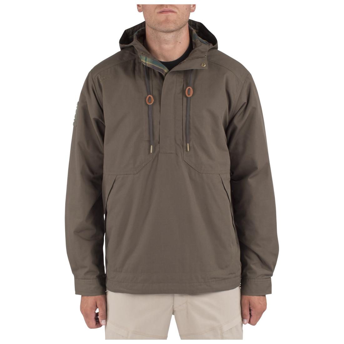 5.11 Tactical 78012 Men Taclite Anorak Jacket Tundra