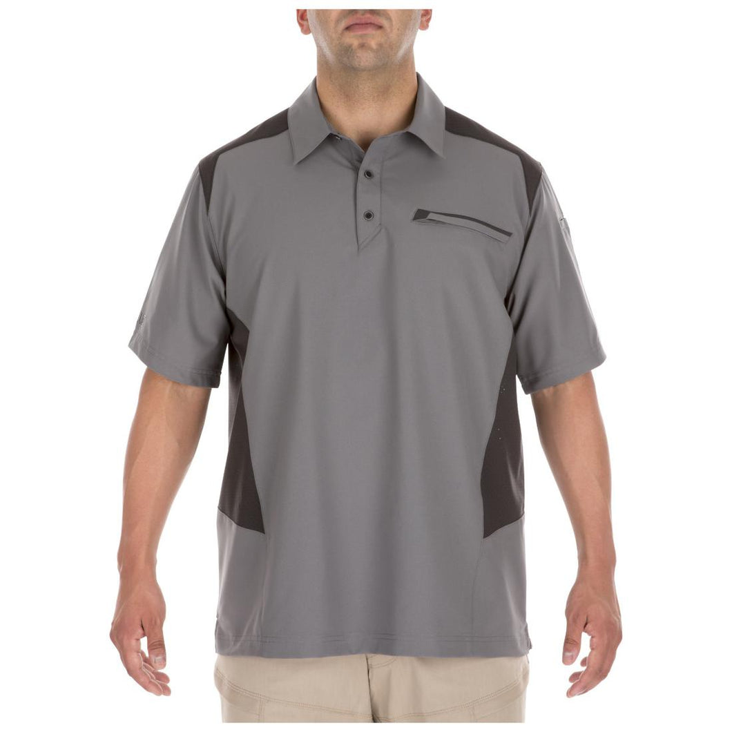 5.11 Tactical 71356 Men Freedom Flex Polo Storm