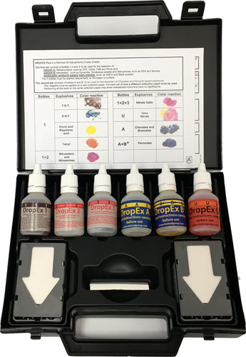 Dropex Plus Explosives Detection Kit 1685