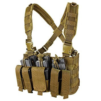 Condor MCR5 Recon Chest Rig-Coyote Brown
