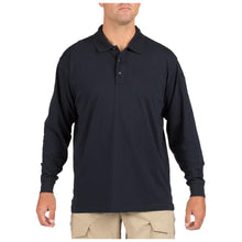 5.11 Tactical 72360 Men Tactical Jersey Long Sleeve Polo Dark Navy