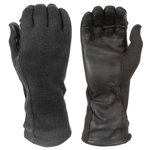 Damascus Gear Flight gloves with Nomex and leather palms