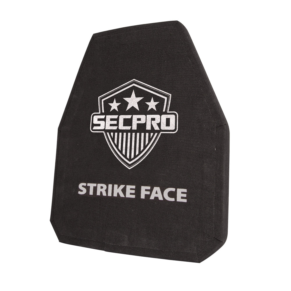 SecPro Lightweight Shooters Cut Stand Alone Level III Tensylon Hard Armor Plate