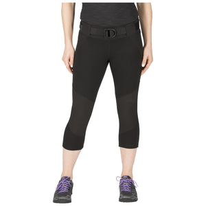 5.11 Tactical 64408 Women's Raven Range Capri Black