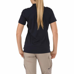 5.11 Tactical 61164 Women's Tactical Jersey Short Sleeve Polo Dark Navy