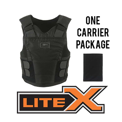 Concealable Body Armor - Litex IIIA