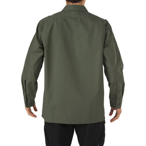 5.11 Tactical 72002 Men TDU Long Sleeve Shirt TDU Green
