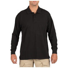 5.11 Tactical 72360 Men Tactical Jersey Long Sleeve Polo Black