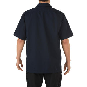 5.11 Tactical 71339 Men Taclite TDU Short Sleeve Shirt Dark Navy