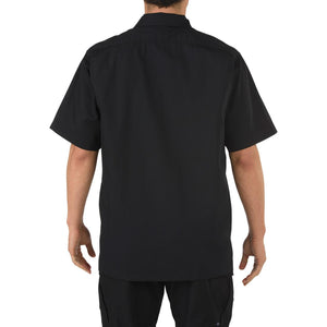 5.11 Tactical 71339 Men Taclite TDU Short Sleeve Shirt Black