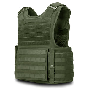 SecPro Gladiator Tactical Vest Level IIIA - OD Green (Rear)