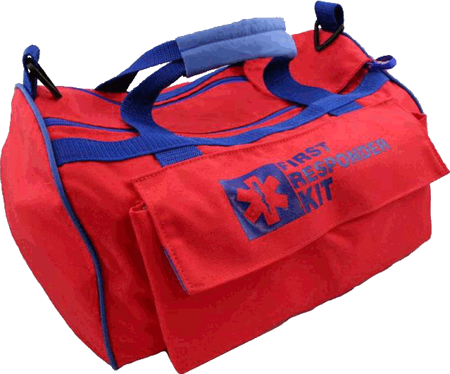 Elite First Aid FA119 - First Responder Bag - Red - Security Pro USA