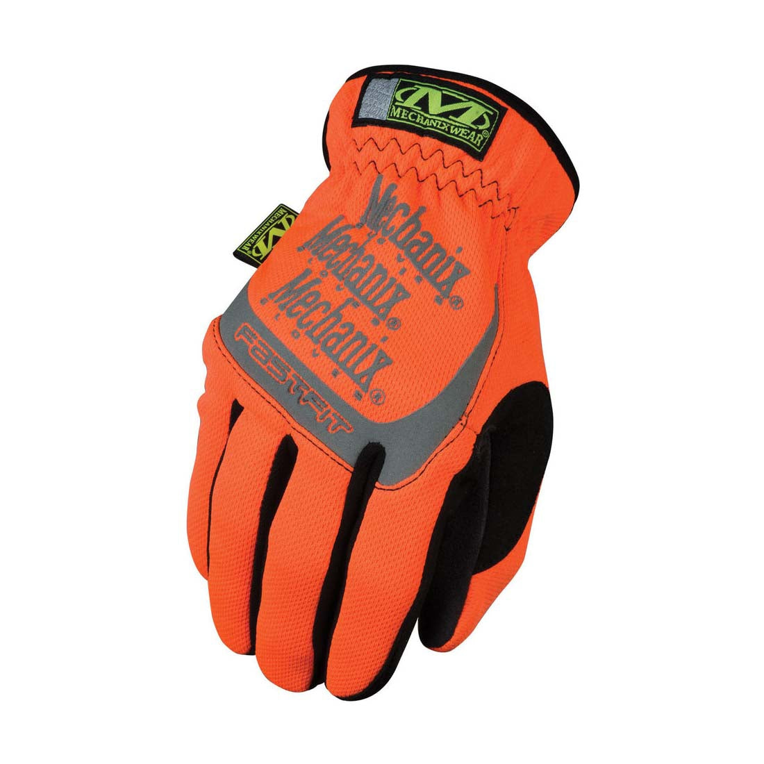 Mechanix Wear SFF-99-008 Hi-Viz Orange FastFit  Safety Gloves - Small