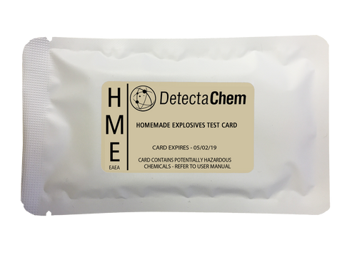 DetectaChem HME Detection Card (Box of 100)