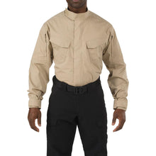 5.11 Tactical 72416 Men Stryke TDU Long Sleeve Shirt TDU Khaki Reguler - Small