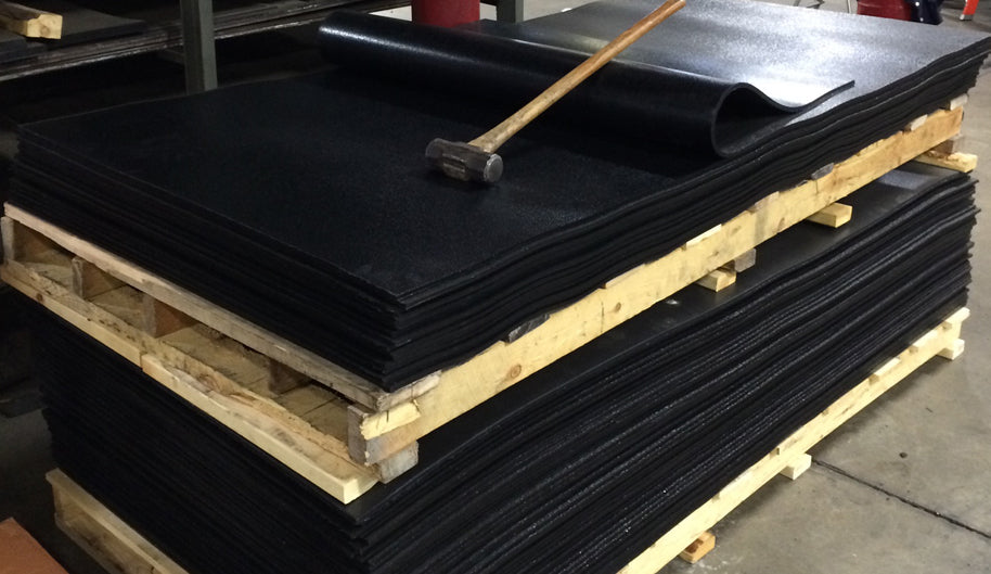 Ballistic Rubber Sheets  & Curtains