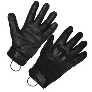 SecPro Shooter Special Hard Knuckle Leather Gloves