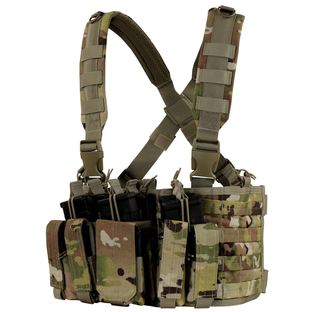 Condor MCR5-800 Recon Chest Rig - Scorpion