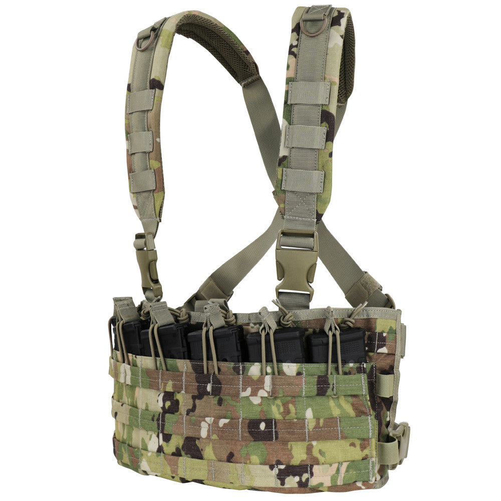 Condor MCR6-800 Rapid Assault Chest Rig- Scorpion