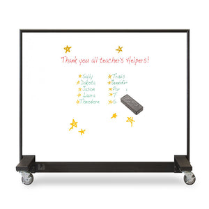 Mobile Bulletproof White Board
