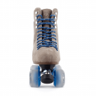 BTFL Tony Pro Genuine Suede Artistic Grey taupe roller skate available at BTFLStore.com adjustable toe stop