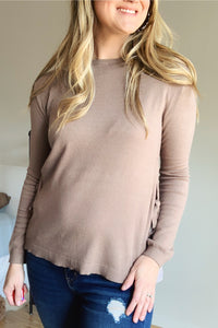 Charming As Can Be Tie Sweater - Lyla Taylor Boutique