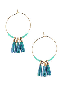 St. Tropez Earrings- Turquoise